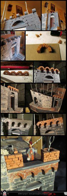 Domus project 176: Miniature brick Lombard band