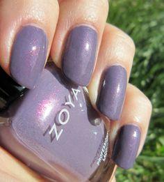 Concrete and Nail Polish: Zoya Lotus