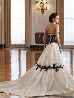ROMANE -abiti da sposa colorati economici,confezionato in taffeta con scollo a cuore e strascico corto