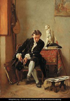 The young artist - Jean-Louis-Ernest Meissonier, French, (1815 - 1891)