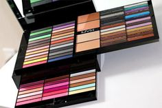 LOVE this NYX Color Shadow Palette. It's like a Rainbow! Pictures Of Makeup Photo Gallery from theBERRY