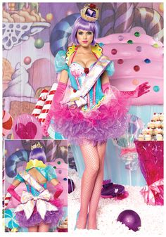candy Costume Ideas | ... Deluxe Cupcake Queen Costume Women S Pop Star Candy Costumes wallpaper