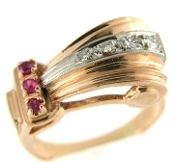 Rose+Gold+Scroll+Design+Ring