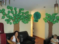 decorations for Robin Hood party