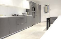 SANTOS kitchen | Diseño de cocina Minos gris antracita