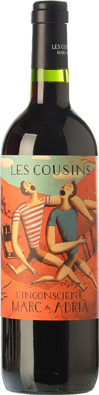 Les Cousins L'Inconscient 2012 - DO Priorat - Bodega Les Cousins Marc & Adrià - Vino tinto crianza - Cariñena, Garnacha, Cabernet Sauvignon, Merlot y Syrah - 14.5%