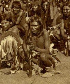 Al-che-say, Apache Scout, Arizona, USA 1878, ck