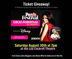 WIN tickets to People en Español Festival Chicas Poderosas Concert #FestivalPeople - ¿Qué Means What? from @quemeanswhat