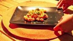 Gnocchi in crema di scampi scappati / Gnocchi in a sea of escaping shrimps