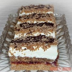 Karácsonyi gesztenyés sütemény Hungarian Desserts, Hungarian Recipes, My Recipes, Cookie Recipes, Dessert Recipes, Sweet Cookies, Sweet Treats, Easy Tiramisu Recipe, Torta Recipe
