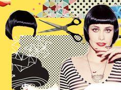 Revista TPM - O cabelo da Mayana Moura (e as roupas, e as unhas...)
