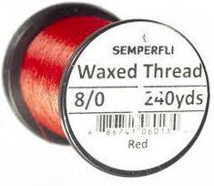 Semperfli Classic Waxed Thread 8/0
