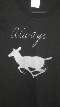 Harry Potter Silver doe Always ladies tee by sTINKBADGUYs on Etsy, $14.00