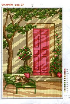 Piros ajtó