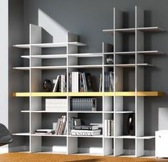 Our #philosophy is the #Customized, and this is the best way we can prove it. Takebook is a unique type of bookshelf, from which you will never see two of a kind. The client is responsible for this bookshelf's life and make the creative possibilities to be infinite. The panels fit together without supports or joints, sustaining books, big flower vases, wine bottles and even the TV. All you need is to tell us your needs, we will create the solution. Have a #niceday from De Rosso