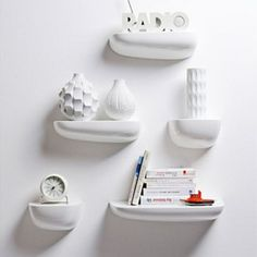 These Vitra Corniches Shelving By Ronan And Erwan Bouroullec are a great way to display a collection of pretty objects like....
