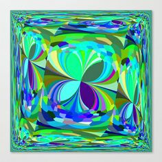 Re-Created ButterfliesXXV  #Stretched #Canvas by #Robert #S. #Lee - $85.00