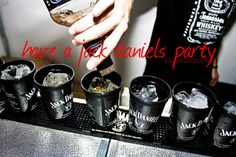 have a jack daniel's party Jack Daniels Party, Whiskey Image, New Tap, Smells Like Teen Spirit, Jack And Jack, Jaco, Wine Drinks, Beverages, Country Girls