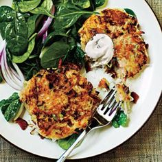 Smoky Potato Pancakes Budget Cooking Recipe | CookingLight.com