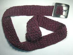 Woven crochet belt Amaranth Purple Belt by ShuvalAccessories Crochet Belt, Hair Pins, Stitch, Purple, Trending Outfits, Lace, Unique Jewelry, Handmade Gifts, Accessories