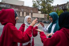 Hand-clapping games are played in schoolyards everywhere, in every language. Eventually they find their way to New York City.