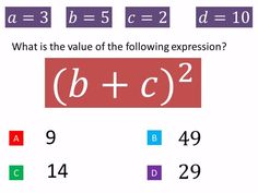 29 best my favourite maths diagnostic questions images on pinterest substitution into formulae fandeluxe Images
