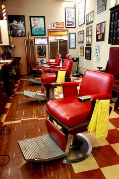 I have these chairs in my own barber shop and I LOVE them!!!
