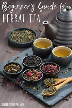 52 DIY Herbal Tea Recipes | A Delightful Home