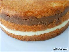 "Elpida's Little Corner!: "" Η Τούρτα "" Apple Pie, Vanilla Cake, Tiramisu, Cake Recipes, Food And Drink, Baking, Birthday Cakes, Ethnic Recipes, Desserts"