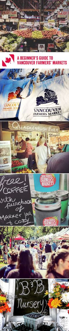 With fresh, handpicked produce, handcrafted drinks and a friendly ambience, what could be better than whiling away a morning in a farmers' market? We've got great tips on how to enjoy Vancouver's brilliant variety of markets – so grab your bag, bring some cash, and get shopping