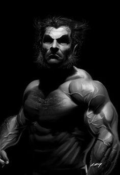 Logan [Wolverine] by Alexandre Salles
