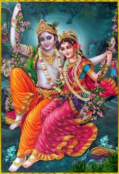 """✨ RADHA KRISHNA ✨ Artist: Yogendra Rastogi """"May Lord Krishna along with His beloved Radha bring about prosperity and auspiciousness at all times. In the same way may the devotee of Krishna, who is able to destroy all obstacles, always bring about. Krishna Names, Krishna Hindu, Krishna Leela, Jai Shree Krishna, Lord Krishna Images, Radha Krishna Pictures, Radha Krishna Photo, Krishna Photos, Hare Krishna"""
