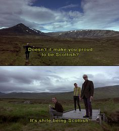 Ewan McGregor, Kevin McKidd, Ewen Bremner and Jonny Lee Miller in Trainspotting