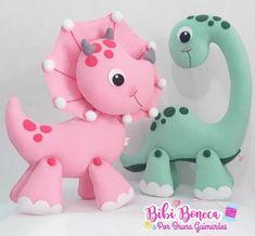 Cute Dinosaur, Dinosaur Party, Baby Crafts, Felt Crafts, Die Dinos Baby, Dinosaur Birthday Cakes, Peter Rabbit And Friends, Sewing Stuffed Animals, Christmas Ornament Crafts