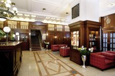Austria Trend Hotel Astoria, Vienna, Lobby