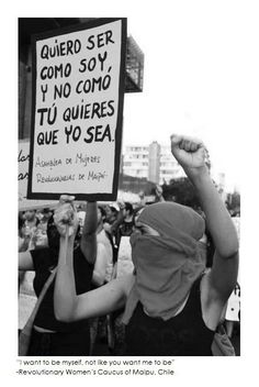 ser Quiero ser « Chicas Malas -- I want to be who I am, not who. You want me to beQuiero ser « Chicas Malas -- I want to be who I am, not who. We Can Do It, I Want You, Refugees, Feminism Quotes, Protest Signs, Power Girl, Girls Be Like, Revolutionaries, Powerful Women