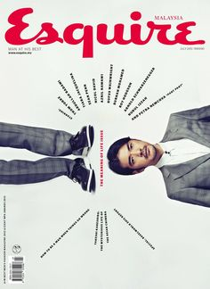 Takeshi Kaneshiro in Giorgio on the cover of Esquire Malaysia, July 2013 Editorial Layout, Editorial Design, Graphic Design Typography, Graphic Design Illustration, Magazine Wall, Plakat Design, Buch Design, Design Design, Magazine Cover Design