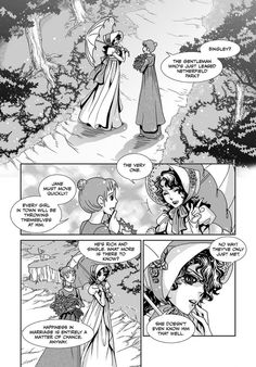 UDON Entertainment's 'Manga Classics: Pride & Prejudice' pairs gorgeous art with the wit and romance that makes Pride & Prejudice such a celebrated work.