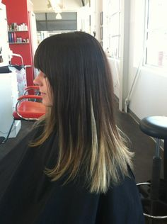 Ombre with balayage underneath hair by kathryn werk 423/ 752,0500