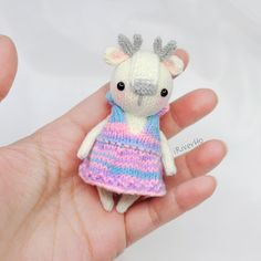 #knitting #knit #dolls #handmade #dollmaker