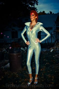 Posts about David Bowie Makeup written by brittbrutal Little Girl Halloween Costumes, Pop Culture Halloween Costume, Halloween Costumes For Girls, David Bowie Makeup, Ziggy Stardust, Glam Rock, Hooded Sweatshirts, Little Girls, Imagination Station
