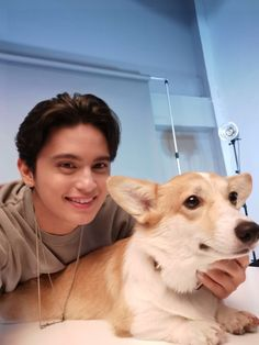 James and Cal (ctto) Cute Pictures, Beautiful Pictures, Actor James, James Reid, Nadine Lustre, Jadine, Music Composers, Music Labels, Baby Puppies