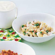 Erbsen-Nudel-Topf mit Schinken Rezept | Küchengötter