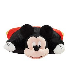 This Mickey Mouse Plush Pillow Pet by  is perfect! #zulilyfinds
