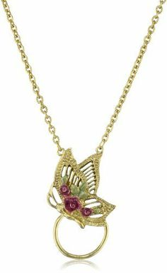 1928 Jewelry Gold Green Amethyst Enamel Butterfly Eyeglass Holder Pendant Necklace 1928 Jewelry, http://www.amazon.com/dp/B001ZWZNU4/ref=cm_sw_r_pi_dp_cA9Eqb0HHR1RH