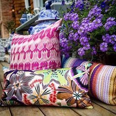 Step into the vibrant world of Missoni Home the Italian virtuoso of bold color palettes and patterns. Our Missoni Home collection is also available Seminyak Village. by bika_living Summer Colors, Luxury Life, Home Collections, Missoni, Squirrel, Photoshop, House Design, Throw Pillows, Interior Design