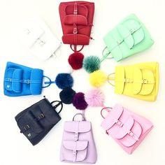 Grafea Leather Backpacks
