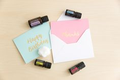 Create your own scented letters by adding a couple of drops of your favorite oil to a cotton ball, and leaving it an envelope overnight. Find more DIY ideas by clicking on the pin!