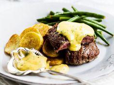Marnated lamb steaks/Marinoidut karitsanpihvit