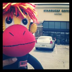 Phoenix was at Starbucks today for a very important meeting. Getting ready to bring Phoenix to life via a crowdfunding campaign. Help me bring him to life for lung cancer patients everywhere!!!